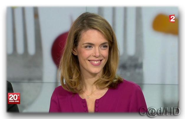 Julie Andrieu.Journal 20H.France2